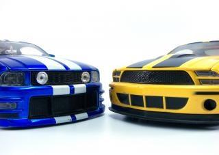 coches de juguete, la velocidad