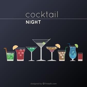 Cóctel noche