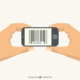 Código de barras en teléfono móvil