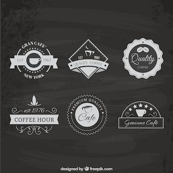 Pack de insignias de cafetería