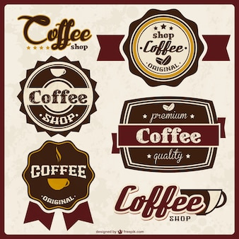 Insignias de calidad del café