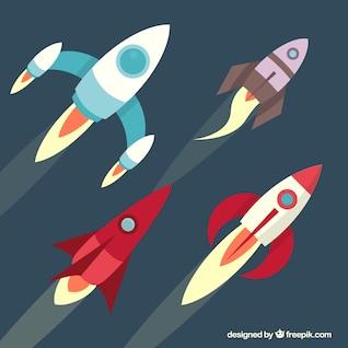 Colección cohetes