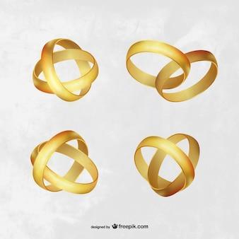 Colección de anillos de compromiso