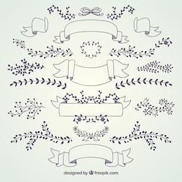 Colección de decoración de boda