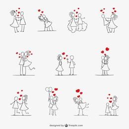 Colección de parejas