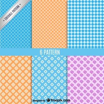 Colección de patrones de fondo