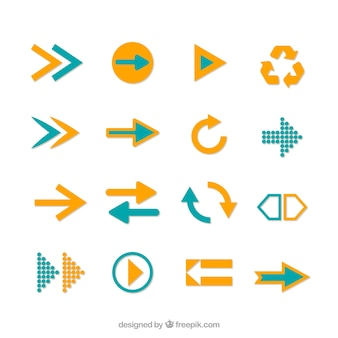 Colección Iconos de la flecha