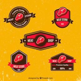 Colección insignias Carne