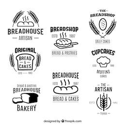 Colección insignias Panadería