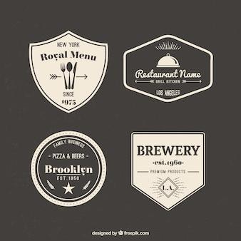 Colección insignias Retro