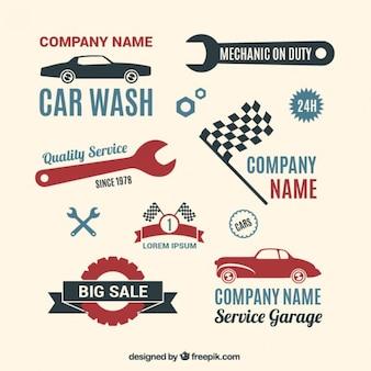 Colección logotipos Garaje