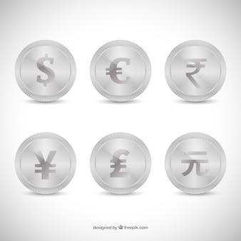 Colección Monedas de plata