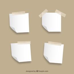 Colección Notas en blanco