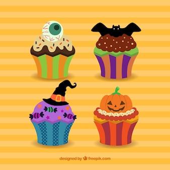 Colección pastelitos de Halloween