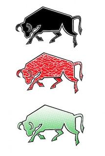 Colores conjunto toro