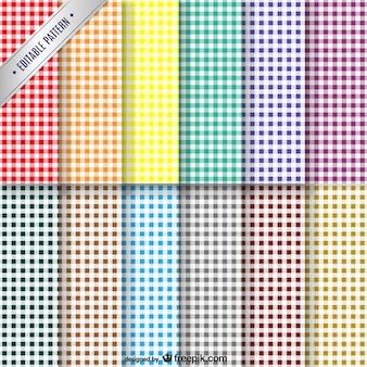 Colección patrones de colores