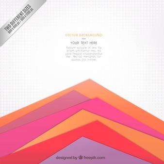 Fondo de triángulos coloridos