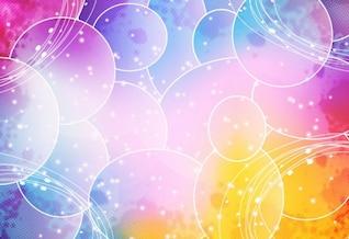 colorido abstracto del vector gráfico de fondo