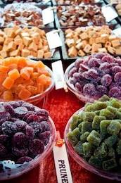 comer frutas secas