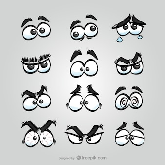 Pack de ojos de cómic