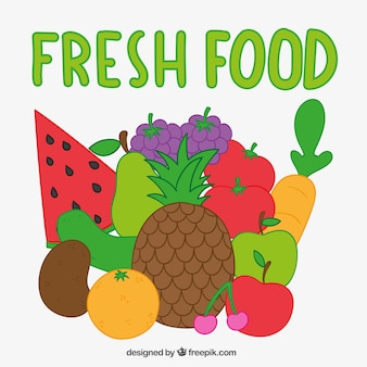 Comida fresca