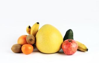 Composición de frutas