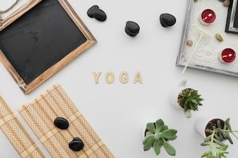 Composición de yoga