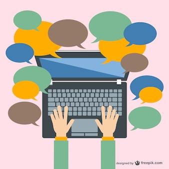 Comunicación con laptop