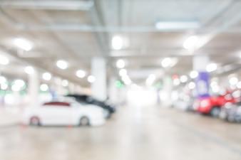 Con centro de negocios aparcamiento vacío abstracto