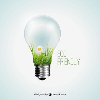 Concepto amigable Eco