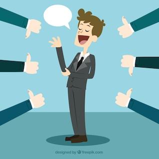 Concepto de crítica de negocio