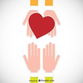 Concepto de donación