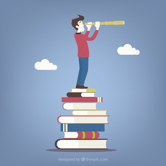 Concepto de futuro de educación
