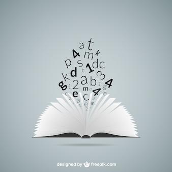 Concepto de la educación con el libro