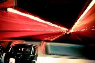 Conducción a través de un túnel