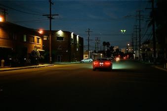 Conducir a solas de noche