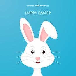 Conejo de Pascua en el estilo de dibujos animados
