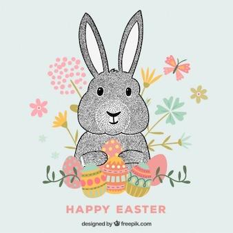 Conejo de Pascua Hipster