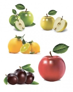 confianza vector gratis de fruta naturaleza ultrarrealista
