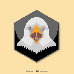 Conjunto de cabezas de águila