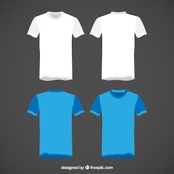 Conjunto de camisetas