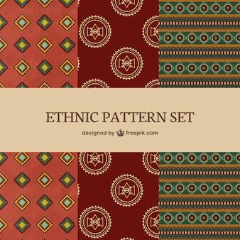 Conjunto de patrones étnicos