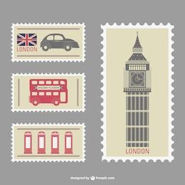 Conjunto de sellos de Londres