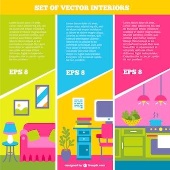 Conjunto de vectores de interior