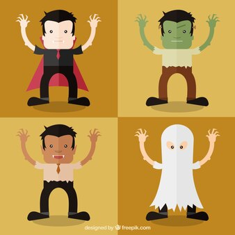 Conjunto disfraz de Halloween