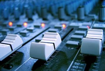 Consola de grabación de calidad material de imagen