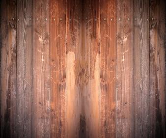 Construcción de madera de roble blanco retro
