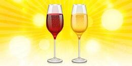 copa de vino icono de PSD