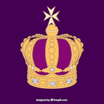Corona púrpura