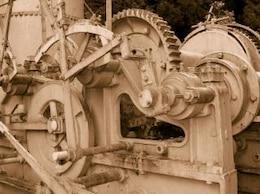 cosecha de madera a vapor colector